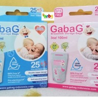 Jual GabaG Kantong ASI (100 ml) BPA Free (Breastmilk Storage) Murah