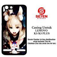 Casing Lenovo K5 atau K5 Plus Anime Wallpaper 90 Custom Hard Case