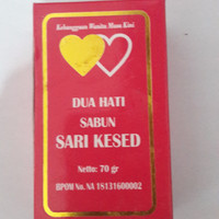 SABUN SARI KESED DUA HATI (KHUSUS WANITA) ORIGINAL 100%