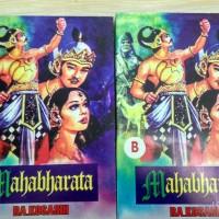 Komik Wayang MAHABHARATA Karya RA Kosasih berisi 2 buku unik & langka