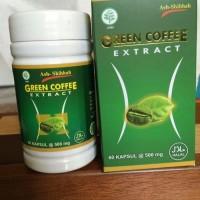 Jual Green Coffee Extract 60 kapsul | Kopi Diet, Pembakar Lemak, Kolesterol Murah