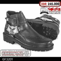 Jual Sepatu Boots Bikers Kulit adventure country Boot Touring Motor Murah
