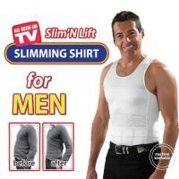 Kaos Dalam Pria / Korset Pria / Korset Pelangsing Pria / Kaos Slim Fit
