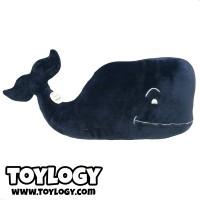 Boneka Ikan Paus Biru ( Blue Whale Stuffed Plush Animal Doll ) 23,5 in