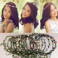 Jual Mahkota Bunga / flower crown Harga Termurah Murah