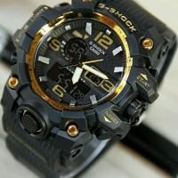Jual Jam Tangan Sport Pria Casio G-Shock GWG1000 Black Gold Murah