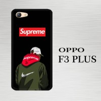 Casing Hardcase HP Oppo F3 Plus bape shark supreme X5001