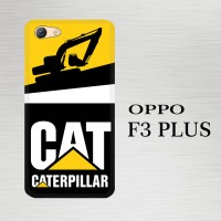 Casing Hardcase HP Oppo F3 Plus caterpillar excavator X5861