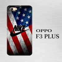Casing Hardcase HP Oppo F3 Plus Nike Wallpaper X4940