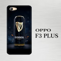 Casing Hardcase HP Oppo F3 Plus Guinness X4581