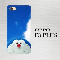 Casing Hardcase HP Oppo F3 Plus Doraemon Stand By X4291
