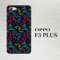 Casing Hardcase HP Oppo F3 Plus Fox Wallpapers Motocross X4532