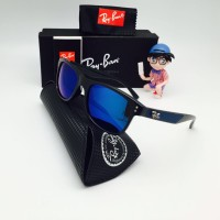 Kacamata Polarized Rayban Ray-Ban Wayfarer Classic Hitam Violet