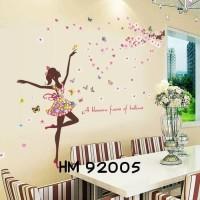 Jual Wallpaper Wallsticker uk 60 x 90 cm motif Ballerina Murah