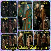 Jual Couple Batik ZAFIR Set 3in1 Murah