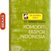 Harga bl 3 686 komoditi ekspor indonesia p s siswoputranto | WIKIPRICE INDONESIA