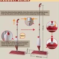 Spray Mop Alat Pel Lantai Semprot Modern Hemat Air Praktis