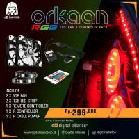 Digital alliance Fan Casing Orkaan 12 RGB 2 Pack