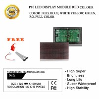 BEST SELLER P10 LED DISPLAY Modul Module Running Text RED COLOR