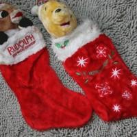 Jual Stocking / Kaos Kaki  Rudolph /Pooh untuk Natal-chirstmas Murah