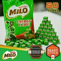 Milo Nestle Energy Cube Isi 50 Pcs