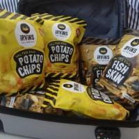 Jual Irvins Salted Egg Potato Chips LARGE 230  g  Ready Murah