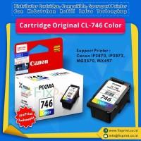 Cartridge Original Canon CL-746 CL746 746 Color, Tinta Printer Canon