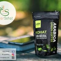 Jual Kopi Hijau Sehat Arabica 250gram - Green Coffee Pelangsing Murah