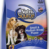 NUTRISOURCE PUPPY SMALL 8KG dog food