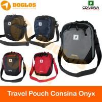Tas Travel Pouch Consina Onyx sling bag / selempang ada slot Tablet