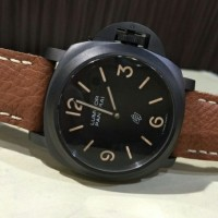 JUAL JAM Panerai PAM360 Leather Black BEST CLONE