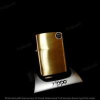 Case Zippo Brushed Brass 204B (Case Only) Murah