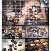 videohive mosaic photo pack after effects templates