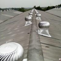 """Cyclone ventilator turbine 24"""" aluminium teknologi jepang"""