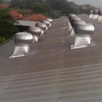 "Cyclone turbine ventilator 30"" Stainless steel teknologi jepang"