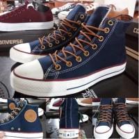 Sepatu All Star Converse Classic Peached Ox Navy Tinggi Murah
