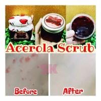 Promo Produk Kecantikan Acerola cherry Scrub Gel ORIGINAL (natural