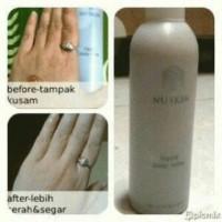 Harga promo produk kecantikan liquid l u r f a body scrub soap n u s k i | antitipu.com