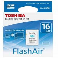 16GB WiFi SD Card Toshiba FlashAir Class 10