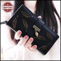 Dompet Wanita Import Panjang Lipat Kartu Koin Murah Korea Style 4127