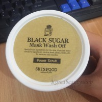 SKINFOOD - Black Sugar Mask Wash Off