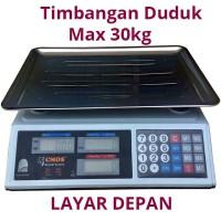 harga Timbangan Duduk Digital 30kg Ozon Sayur / Buah Tokopedia.com