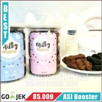 MILKY MAMA BEAR COOKIES Pelancar ASI Booster tea