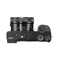 Sony Alpha A6000 Kit 16 50mm Free Screenguard terpasang
