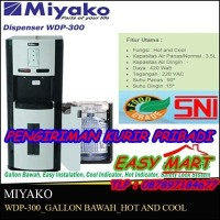 WDP 300 Dispenser Miyako Hot n Cool COD sekitar jakarta