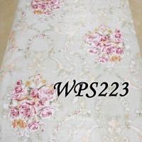 WPS223 SHABBY FLOWER WALPAPER-DINDING WALL PAPER STIKER STICKER