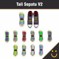 GOS Tali Sepatu Silicon V2 / Tali sepatu praktis 2016