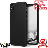 Rearth Ringke iPhone X Case Slim Black