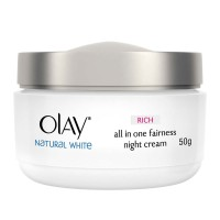 Olay Natural White Rich all in One Fairness Night Cream 50gr