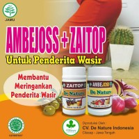 Ambejoss Zaitop Wasir Di Apotik De Nature Indonesia